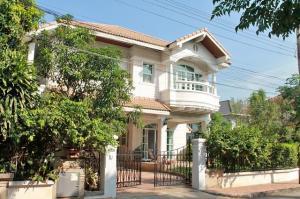 For RentHouseLadprao101, The Mall Bang Kapi : RHT405ให้เช่าบ้านเดี่ยว2ชั้นเนื้อที่ 90ตรว.พร้อมเฟอร์นิเจอร์ หมู่บ้านภัทรารามคำแหง76