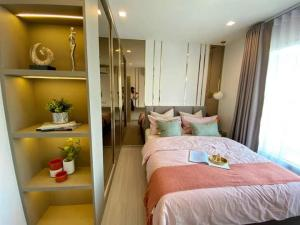 For RentCondoOnnut, Udomsuk : For rent Life Sukhumvit 62 near BTS Bang Chak, beautiful room, fully furnished, ready to move in