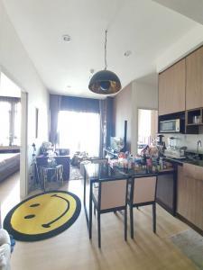 For SaleCondoRama9, RCA, Petchaburi : Urgent sale !! 2 bedrooms, 2 bathrooms, size 55 sq.m., high floor, 20 ++