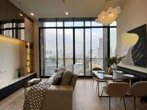 For RentCondoSukhumvit, Asoke, Thonglor : Noble Around33 : just 10 minutes from bts Phromphong , two bedrooms for rent Brand new
