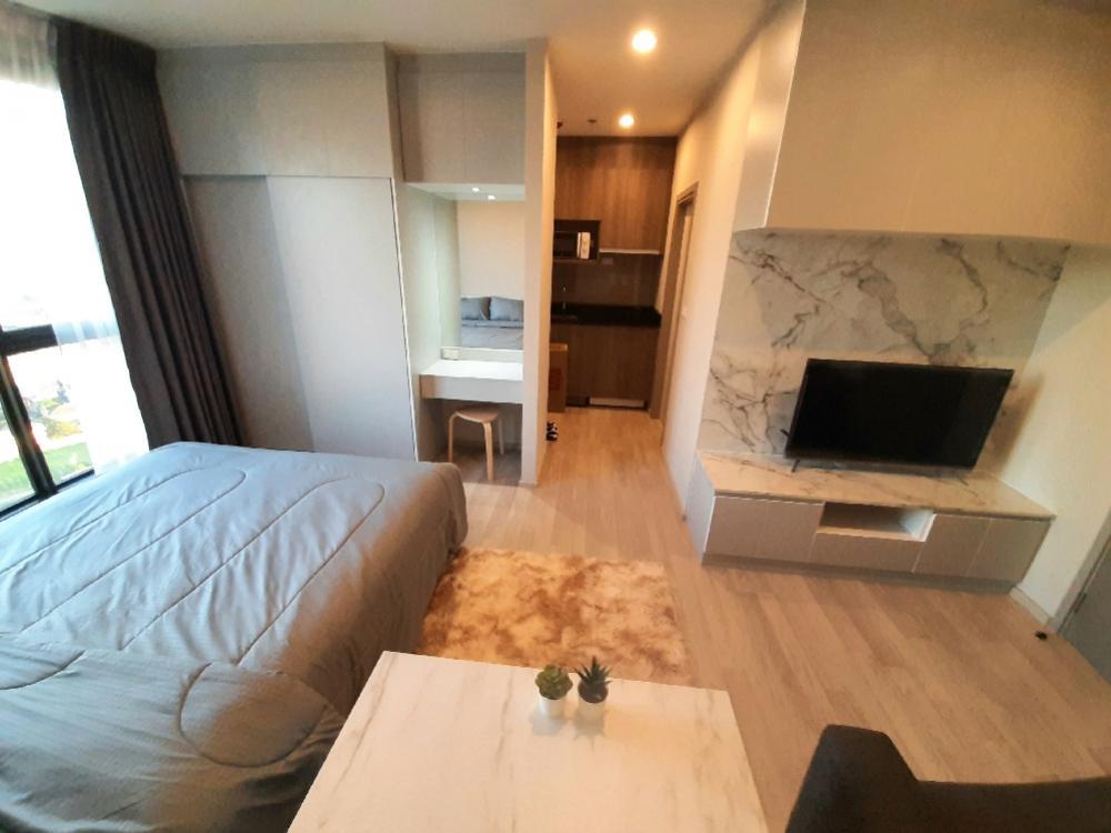For RentCondoBangna, Lasalle, Bearing : Condo for rent, Ideo Mobi Sukhumvit Eastpoint, next to Bts Bangna, built-in room, beautiful view!