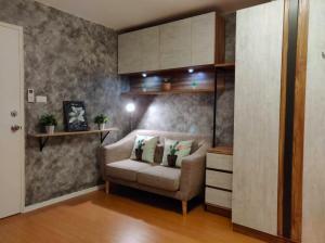 For RentCondoSamrong, Samut Prakan : Condo for rent Lumpini Mix Thepharak, beautiful room, fully furnished, ready to move in 5 Jan.