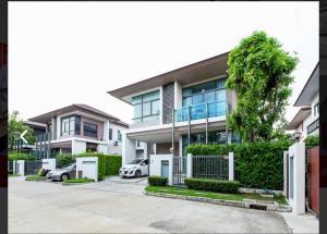 For SaleHouseOnnut, Udomsuk : House for sale, Setthasiri On Nut - Srinakarin. Sold below the capital 8.2 million