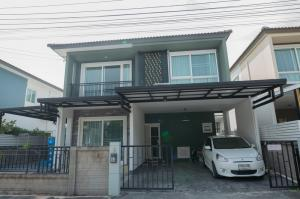 For SaleHouseLadkrabang, Suwannaphum Airport : Twin house Golden Neo Bangna-Kingkaew Quiet and can move in