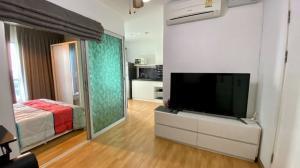 For RentCondoKhlongtoei, Kluaynamthai : Condo for rent: Aspire Rama 4 Kluaynamthai, very close to Bangkok University, fully furnished, 28 sq.m.