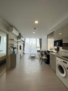 For RentCondoSukhumvit, Asoke, Thonglor : Condo for rent, new room, ready to move in, Quintara Treehaus Sukhumvit 42, size 1 bedroom, near BTS Ekkamai