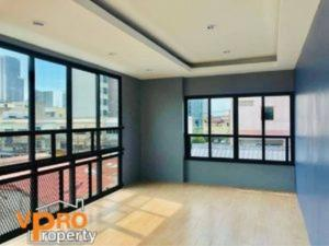 For RentTownhouseOnnut, Udomsuk : Townhome for rent at Sukhumvit 81, individual and juristic person model, near BTS On Nut