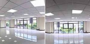 For RentOfficeWongwianyai, Charoennakor : RPJ150 office building for rent, 7 floors with elevators, Khlong San District