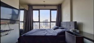 เช่าคอนโดอ่อนนุช อุดมสุข : ให้เช่า THE BASE PARK WEST ห้อง 26 ตารางเมตร ชั้น 22 วิวเมือง