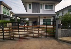 For RentHouseRangsit, Patumtani : ++ For rent ++ single house, Chat Luang Village 15, Sam Khok, Pathum Thani