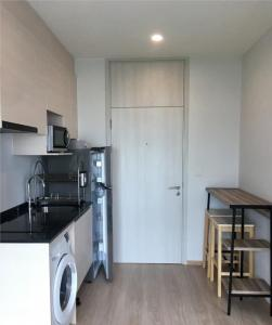 For RentCondoRatchadapisek, Huaikwang, Suttisan : Condo for rent: Noble Revolve Ratchada, near MRT Cultural Center Ready to move in room size 25 sq m, 26th floor