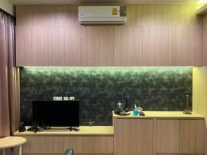 เช่าคอนโดสะพานควาย จตุจักร : MN461 - ให้เช่า M Jatujak ใกล้ MRT กำแพงเพชร และ BTS หมอชิต ขนาด 29.24 ตร.ม. ห้องมุม