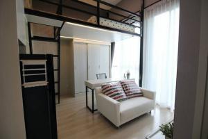 For RentCondoRatchadapisek, Huaikwang, Suttisan : MN462 - For rent Noble Revolve Ratchada 2, next to MRT Cultural Center, Duplex size 27 sq.m.