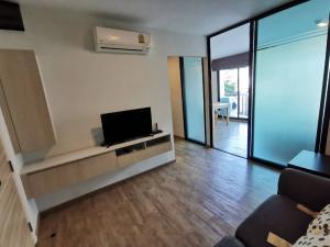 For RentCondoKasetsart, Ratchayothin : Rent 1 bedroom, large condo, Notting Hill, Phahon-Kaset, near Sripatum University, next to BTS Bang Bua