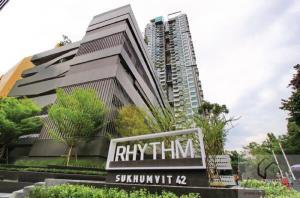 เช่าคอนโดสุขุมวิท อโศก ทองหล่อ : GPR9306 ให้เช่าด่วน ⚡️Rhythm sukhumvit 42 💰เช่าถูก 23,000 bath 💥 Hot Price