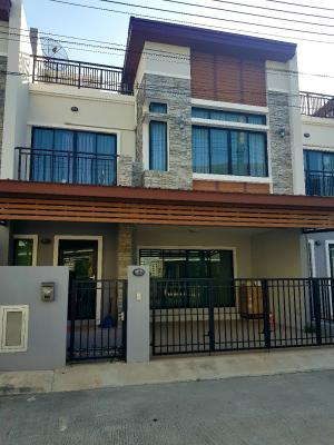For SaleTownhouseCha-am Phetchaburi : Quick sale!! Selling at a loss!! 4 million, free furniture, everything, Baan Suchawalai project at Sea, Cha-am Subdistrict, Bo Khaem District, 32 sq m, 3 floors