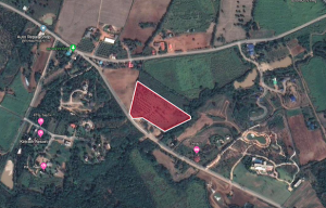 For SaleLandKorat KhaoYai Pak Chong : Land Pak Chong Khao Yai, title deed with 12 rai, 2.2 million baht, contact Khun Tor 0838953553