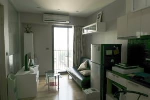 For RentCondoWongwianyai, Charoennakor : For rent Fuse Sathorn - Taksin, near BTS Wongwian Yai, 33 sq.m., 8th floor, 1 bedroom, 1 bath, fully furnished, complete with electrical appliances. 16,000 .- / month