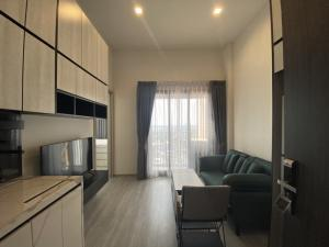For RentCondoOnnut, Udomsuk : The Line 101 room, new in box Complete electrical appliances, ready to move in 12,999 baht, 16th floor, 27 sqm.