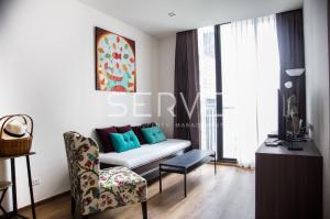For RentCondoSukhumvit, Asoke, Thonglor : Good Price : Corner 1 Bd. Unit at PARK 24 (Sukhumvit 24) for Rent