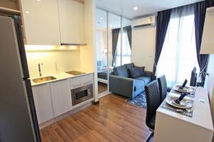 For RentCondoBang Sue, Wong Sawang : MN471 Chewathai Interchange for rent, next to Tao Poon BTS station, size 27 sq.m.
