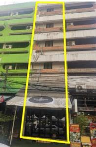 For RentShophouseSathorn, Narathiwat : 5-storey commercial building and 1 mezzanine for rent.