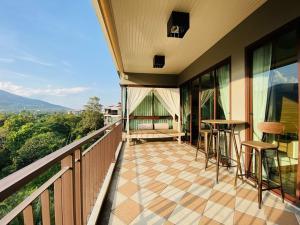 เช่าคอนโดเชียงใหม่-เชียงราย : Nice room with a mountain view for rent at Mountain Front Condominium # PN-00003320