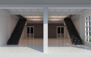เช่าตึกแถว อาคารพาณิชย์พระราม 3 สาธุประดิษฐ์ : RPJ153ให้เช่าอาคารพาณิชย์3 ชั้น 2คูหา รีโนเวทใหม่ทั้งหลัง สาทร-สาธุประดิษฐ์