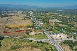 For SaleLandChiang Mai, Chiang Rai : Urgent sale of land, prime location, Mae Taeng District, Chiang Mai