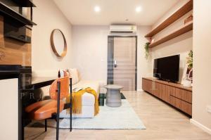 เช่าคอนโดสาทร นราธิวาส : For Rent The Room Sathorn-St.Louis (35 sqm.)