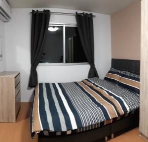 For RentCondoSamrong, Samut Prakan : ⚡🏨 Condo for rent LPN Mix, beautiful room, fully furnished, near BTS Paknam 🏨⚡