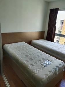 For RentCondoLadkrabang, Suwannaphum Airport : Rent 2 beds! V Condo Ladkrabang (V condo Ladkrabang), Chalong Krung Road, near Techno Ladkrabang In front of Ladkrabang Industrial Estate