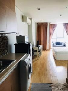 เช่าคอนโดอ่อนนุช อุดมสุข : ให้เช่า Le Luk Condominium ห้อง Studio แต่งครบ วิวโล่ง พร้อมอยู่