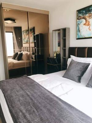 For RentCondoLadprao, Central Ladprao : 💕 For rent a very beautiful room, Life Ladprao Condo, Building B, negotiable price, high floor, very beautiful view, fully furnished, 1 bedroom, ready to move in