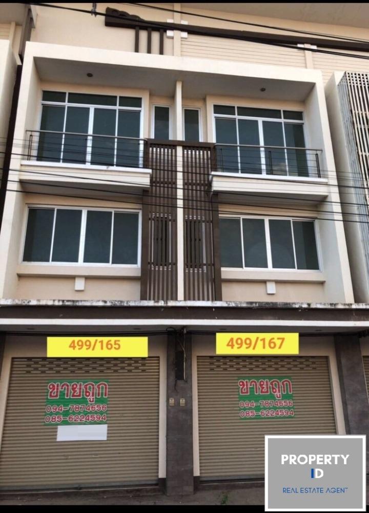 ขายตึกแถว อาคารพาณิชย์สระแก้ว : ID 2001ขายด่วน ศูนย์การค้าอินโดจีน ตึกใหม่ไม่เคยเข้าอยู่ ทำเลดี ถนนเมน เข้าออกได้ 2 ทางค้าขายปิดร้านค้า ขนส่งสะดวก