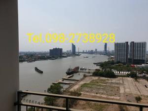 For RentCondoRama3 (Riverside),Satupadit : Urgent for rent, U Delight Residence Riverfront Rama 3, room 40 sq m, 1 bedroom, express 22 floor