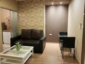 For RentCondoThaphra, Wutthakat : (Code A07016404) Rent and sale Condo U Delight, BTS Talat Phlu, size 30.42 sq.m., 3rd floor, corner room, condo next to bts