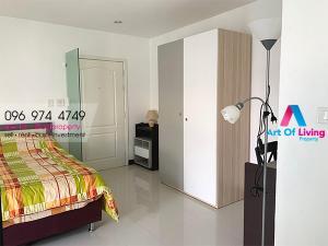 For RentCondoRama3 (Riverside),Satupadit : For rent Lumpini Place Water Cliff, 30th floor, corner room, beautiful view. AOL-F61-2012003178