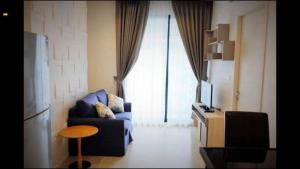 For RentCondoRatchadapisek, Huaikwang, Suttisan : Condo for rent, QUINN Ratchada 17, near MRT Sutthisan, fully furnished, pool view