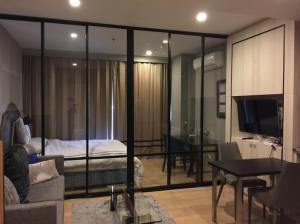 For RentCondoSukhumvit, Asoke, Thonglor : For Rent: Noble Refine (Studio) 33sq.m. price 23,000 baht per month Tel 065-989-9065