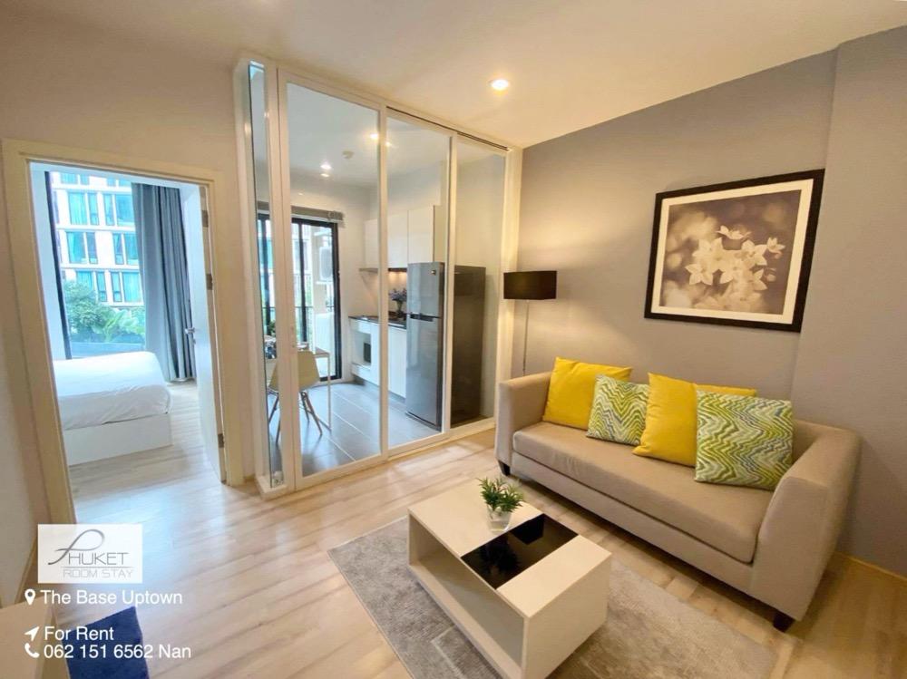 For RentCondoPhuket, Patong : Phuket Condo for Rent: The Base Uptown (THE BASE UPTOWN) near Lotus Samkong Bypass