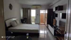 For RentCondoPattanakan, Srinakarin : (Code A07016415) Condo for rent Supalai Park Srinakarin (MRT Yellow Line (Lat Phrao - Samrong), 10th floor, studio room 36 sqm, fully furnished, ready to move in, only 6,500 / month only.
