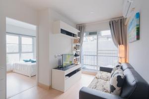 For RentCondoBangna, Lasalle, Bearing : Condo for rent, deco BTS Bearing 2 bedrooms.