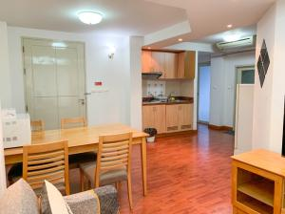 For RentCondoPattanakan, Srinakarin : For Rent Bellevue Boutique Bangkok Suan Luang Pattanakarn Service Apartment [Junior Suite Room 60sqm] near Airport Link Huamark