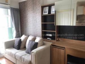 For RentCondoRama3 (Riverside),Satupadit : Lumpini Park Riverside Rama Total area 28.74 Floor 36 Rental price (baht / month) 11,000 baht