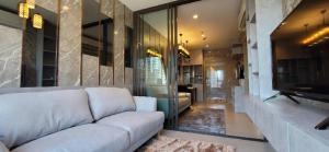 For RentCondoRama9, RCA, Petchaburi : Condo for rent, Life Asoke - Rama 9 (Life Asoke - Rama 9) 23,000 baht only !!! New room, unboxing, modern decoration, size 40 sq m, 12th floor, building A
