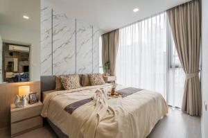 For RentCondoSukhumvit, Asoke, Thonglor : For Rent Quintara Treehaus Sukhumvit 42, beautiful room with new !! Furniture @JST Property.