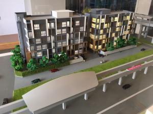For SaleCondoChengwatana, Muangthong : Sell Motive Condominium Chaengwattana 10, just 90 meters pink train.