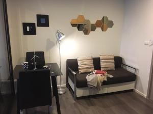 For RentCondoBang Sue, Wong Sawang : For rent, The Stage Taopoon Interchange, beautiful room, fully furnished, near MRT Tao Poon