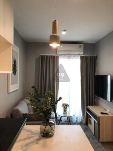 For RentCondoPattanakan, Srinakarin : Condo for rent, The Rich Park @ Triple Station, high floor, beautiful view, north, pool side Ready to move in